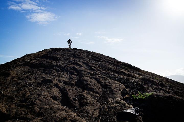 Kristian på vulkan