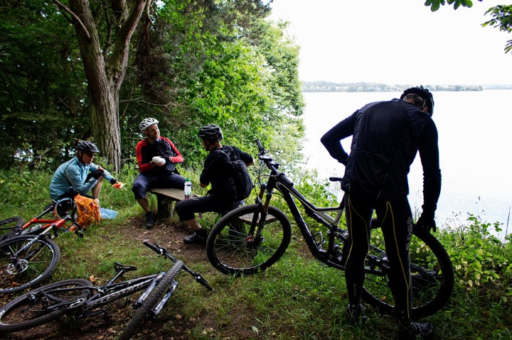 Pause ved Esrum Sø